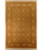 RugStudio presents J. Aziz Haj Jalili V-1691 Ivory Hand-Knotted, Good Quality Area Rug