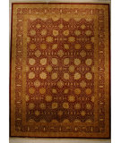 RugStudio presents J. Aziz Shah Abbas Antiqued V-1680 Red 86759 Hand-Knotted, Good Quality Area Rug
