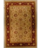 RugStudio presents J. Aziz Shah Abbas Antiqued V-1663 Iv-Red 86737 Hand-Knotted, Good Quality Area Rug