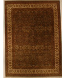 RugStudio presents J. Aziz Antiqued Jaipur Jv-37 Sgr-Gol 86851 Hand-Knotted, Good Quality Area Rug