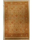 RugStudio presents J. Aziz Shah Abbas Antiqued V-1647 Iv-Gol 86730 Hand-Knotted, Good Quality Area Rug