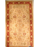 RugStudio presents J. Aziz Shah Abbas Antiqued V-1663 Iv-Red 86738 Hand-Knotted, Good Quality Area Rug
