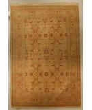 RugStudio presents J. Aziz Haj Jalili V-1603 Ivory / Gold Hand-Knotted, Best Quality Area Rug