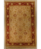 RugStudio presents J. Aziz Shah Abbas Antiqued V-1663 Iv-Red 86740 Hand-Knotted, Good Quality Area Rug