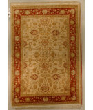 RugStudio presents J. Aziz Shah Abbas Antiqued V-1663 Iv-Rst 86741 Hand-Knotted, Good Quality Area Rug