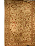 RugStudio presents J. Aziz Antiqued Jaipur 800-Mq Whi- 86845 Hand-Knotted, Good Quality Area Rug