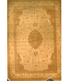 RugStudio presents J. Aziz Shah Abbas Antiqued V-1707 Iv-Oli 86773 Hand-Knotted, Good Quality Area Rug