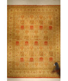 RugStudio presents J. Aziz Haj Jalili V-1683 Rust Hand-Knotted, Good Quality Area Rug