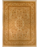 RugStudio presents J. Aziz Shah Abbas Antiqued V-1713 Iv-Oli 86778 Hand-Knotted, Good Quality Area Rug