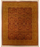RugStudio presents J. Aziz Shah Abbas Antiqued V-1603 Mar-Pgo 86716 Hand-Knotted, Good Quality Area Rug