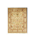 RugStudio presents J. Aziz Shah Abbas Antiqued V-1644 Snd-Snd 86728 Hand-Knotted, Best Quality Area Rug