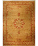 RugStudio presents J. Aziz Shah Abbas Antiqued V-1671 Gol-Gol 86748 Hand-Knotted, Best Quality Area Rug