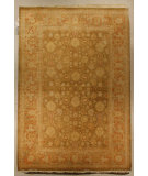 RugStudio presents J. Aziz Shah Abbas Antiqued V-1718 Oli-Bro 86783 Hand-Knotted, Good Quality Area Rug