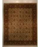RugStudio presents J. Aziz Antiqued Jaipur Grt-31 Sil-Msh 86850 Hand-Knotted, Good Quality Area Rug
