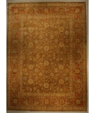 RugStudio presents J. Aziz Shah Abbas Antiqued V-1718 Oli-Bro 86782 Hand-Knotted, Good Quality Area Rug