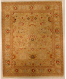 RugStudio presents J. Aziz Shah Abbas Antiqued V-1644 Snd-Snd 86729 Hand-Knotted, Good Quality Area Rug