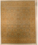 RugStudio presents J. Aziz Shah Abbas Antiqued V-1662 Lbl-Wal 86734 Hand-Knotted, Good Quality Area Rug