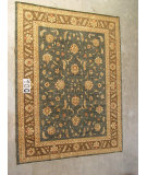 RugStudio presents J. Aziz Peshawar Ult-205 Gray-Brown 86978 Hand-Knotted, Good Quality Area Rug