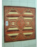 RugStudio presents J. Aziz Peshawar Novelty Beige- 86877 Hand-Knotted, Good Quality Area Rug
