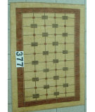 RugStudio presents J. Aziz Peshawar Novelty Beige- 86879 Hand-Knotted, Good Quality Area Rug