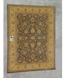 RugStudio presents J. Aziz Peshawar Ult-407 Gray-Beige 86990 Hand-Knotted, Good Quality Area Rug