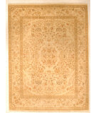 RugStudio presents J. Aziz Shah Abbas Antiqued V-1713 Iv-Oli 86777 Hand-Knotted, Good Quality Area Rug