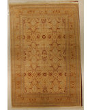 RugStudio presents J. Aziz Shah Abbas Antiqued V-1603 Iv-Gol 86707 Hand-Knotted, Good Quality Area Rug