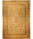 RugStudio presents J. Aziz Shah Abbas Antiqued V-1713 Iv-Oli 86780 Hand-Knotted, Good Quality Area Rug