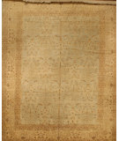 RugStudio presents J. Aziz Antique Repro Sw-1009 Lbl-Iv 86843 Hand-Knotted, Good Quality Area Rug