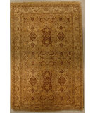 RugStudio presents J. Aziz Shah Abbas Antiqued V-1740 Gol-Iv 86792 Hand-Knotted, Good Quality Area Rug