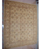 RugStudio presents J. Aziz Peshawar Ult-167 Beige-Beige 86958 Hand-Knotted, Good Quality Area Rug
