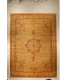 RugStudio presents J. Aziz Haj Jalili V-1667 Brown / Olive Hand-Knotted, Good Quality Area Rug