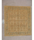 RugStudio presents J. Aziz Peshawar Ult-560 SoftBlue-SoftBlue 87004 Hand-Knotted, Good Quality Area Rug