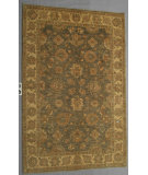 RugStudio presents J. Aziz Peshawar Ult-902 Gray-Beige 87045 Hand-Knotted, Good Quality Area Rug