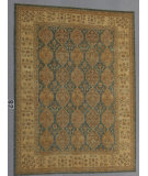RugStudio presents J. Aziz Peshawar Ult-804 Soft Blue 87037 Hand-Knotted, Good Quality Area Rug