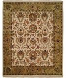 RugStudio presents Kalaty Jaipura Jp-424 Ivory/Gold Hand-Knotted, Best Quality Area Rug