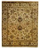 RugStudio presents Rugstudio Sample Sale 13577R Ivory/Ivory Hand-Knotted, Best Quality Area Rug