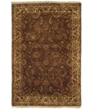 RugStudio presents Kalaty Lateef Lt-802 Mocha/Ivory Hand-Knotted, Better Quality Area Rug