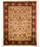RugStudio presents Kalaty Lateef Lt-803 Ivory/Burgundy Hand-Knotted, Better Quality Area Rug