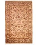 RugStudio presents Kalaty Lateef Lt-804 Ivory/Ivory Hand-Knotted, Better Quality Area Rug