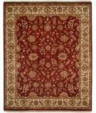 RugStudio presents Rugstudio Famous Maker 39195 Antique Rust/Ivory Hand-Knotted, Better Quality Area Rug