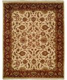 RugStudio presents Kalaty Lateef Lt-808 Ivory/Antique Rust Hand-Knotted, Better Quality Area Rug