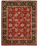 RugStudio presents Kalaty Lateef Lt-840 Red/Navy Hand-Knotted, Better Quality Area Rug