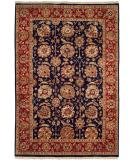 RugStudio presents Kalaty Lateef Lt-841 Navy/Red Hand-Knotted, Better Quality Area Rug