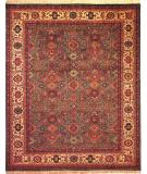 RugStudio presents Kalaty Nomad B Nb-675 Green/Ivory Hand-Knotted, Best Quality Area Rug