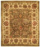 RugStudio presents Rugstudio Sample Sale 13616R Sage/Ivory Hand-Knotted, Best Quality Area Rug