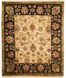 RugStudio presents Kalaty Nomad B Nb-679 Ivory/Black Hand-Knotted, Best Quality Area Rug