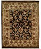 RugStudio presents Kalaty Nomad B Nb-680 Black/Ivory Hand-Knotted, Best Quality Area Rug