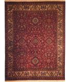 RugStudio presents Kalaty Nomad B Nb-681 Plum/Ivory Hand-Knotted, Best Quality Area Rug