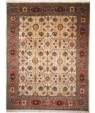RugStudio presents Kalaty Nomad B Nb-684 Ivory/Rust Hand-Knotted, Best Quality Area Rug